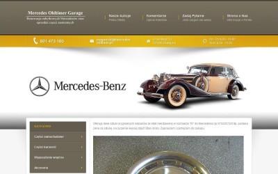 Szablon Allegro Mercedes Oświęcim